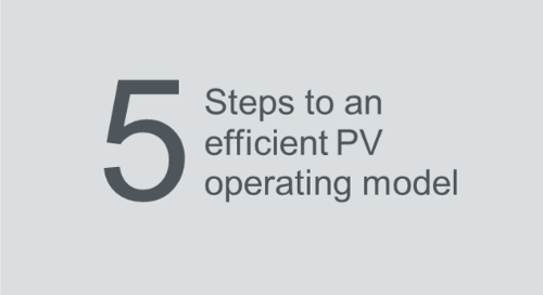 5-step approach to an efficient PV operating model