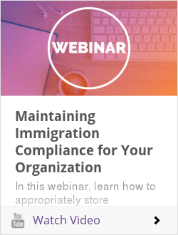 [Webinar] On the Record: Maintaining Immigration Compliance for Your Organization