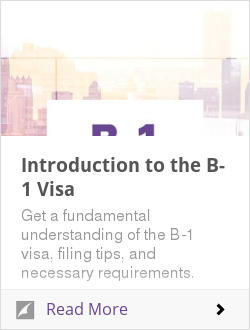 Introduction to the B-1 Visa