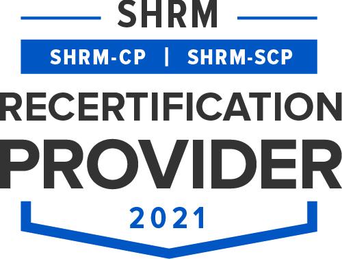 SHRM Recertification Provider Seal