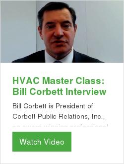 HVAC Master Class: Bill Corbett Interview