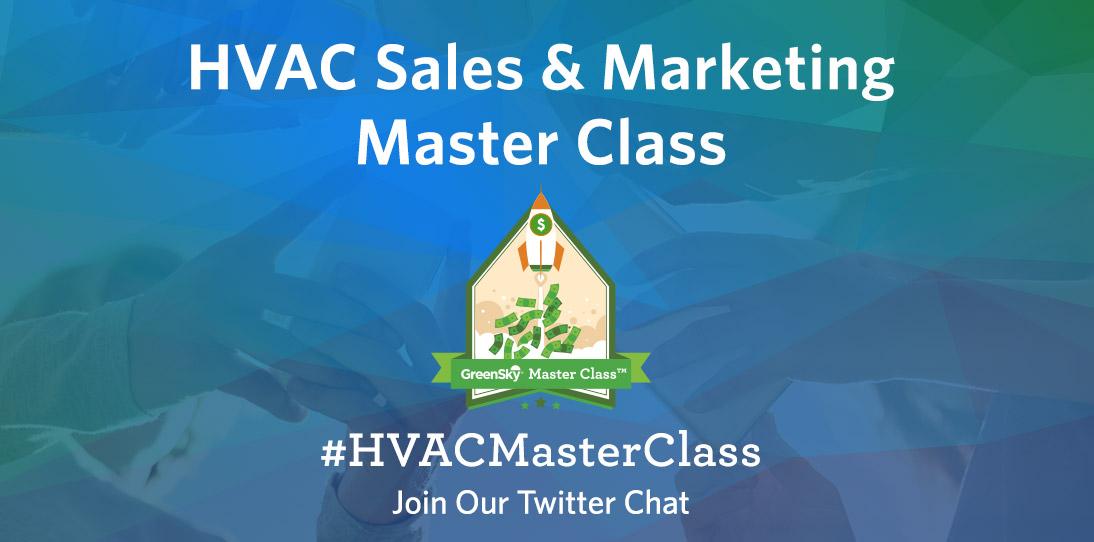 #HVACMasterClass