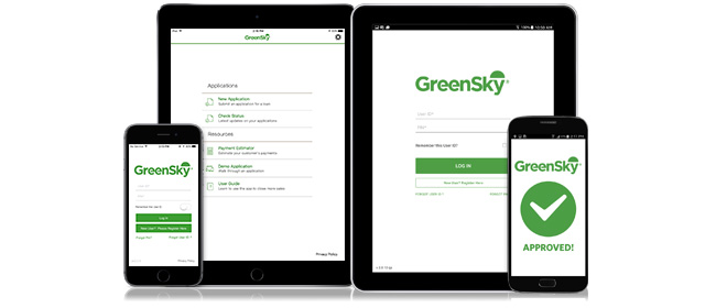 Over 90% of all GreenSky applications receive decisions in seconds.