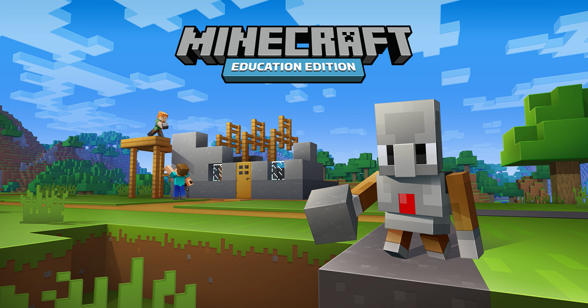 Minecraft: Education Edition, featuring Code Builder and the Minecraft Agent