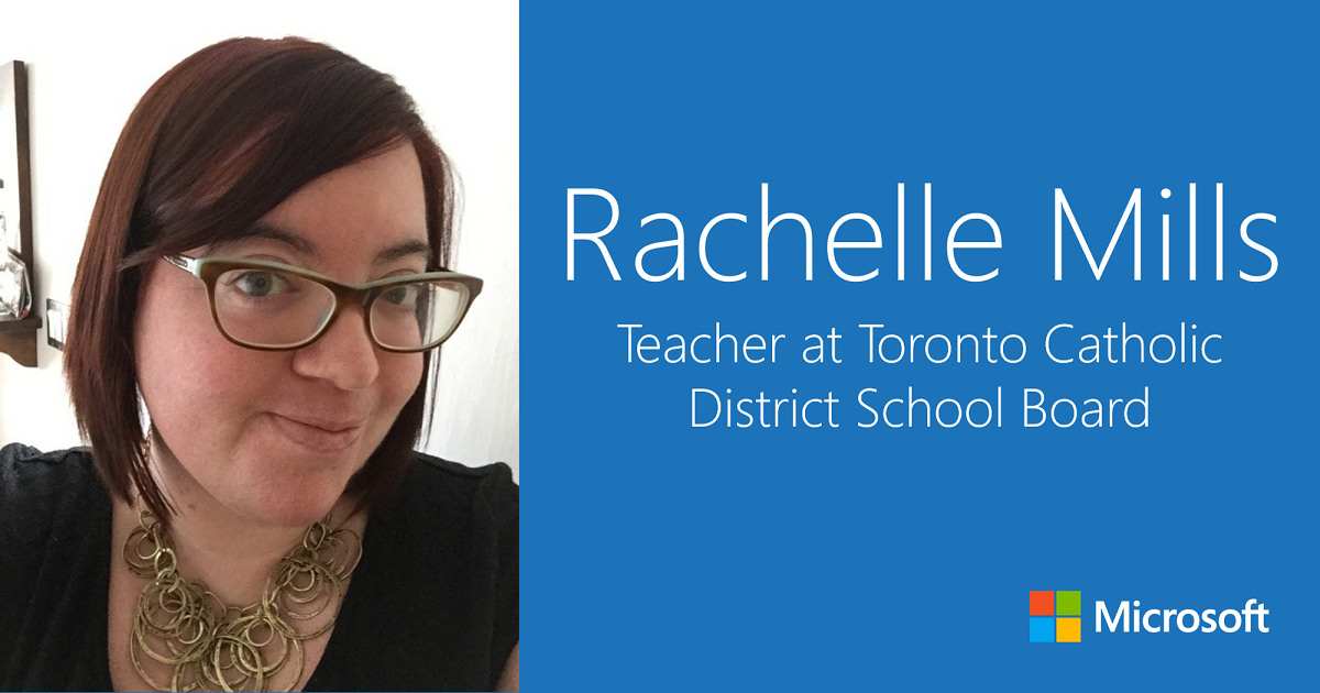 Rachelle Mills: Teacher at Toronto Catholic District School Board