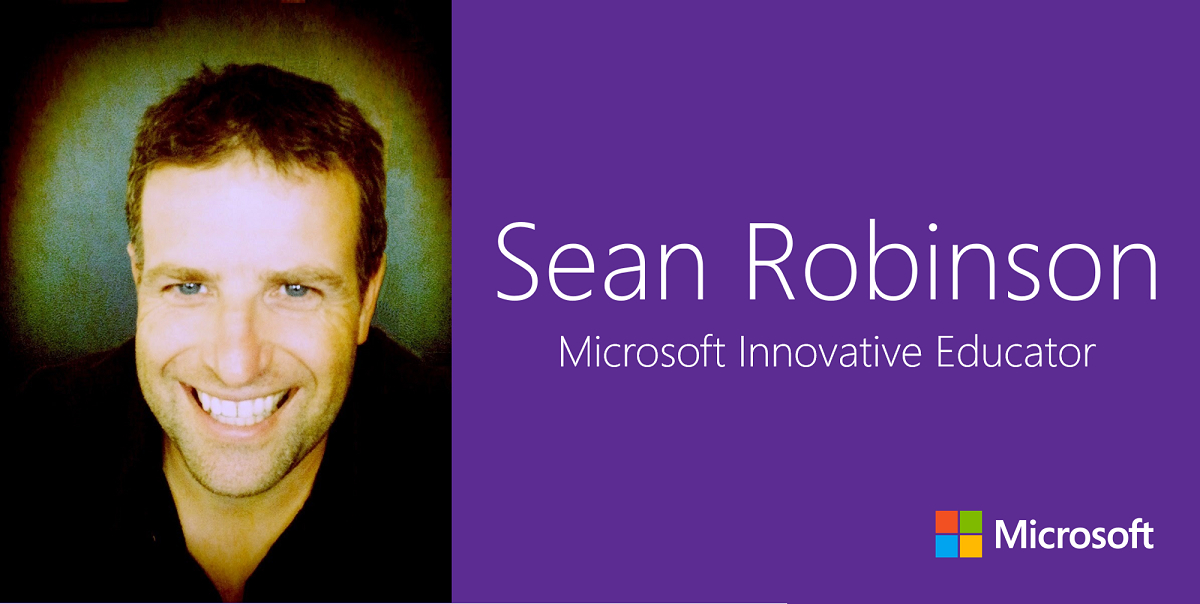 Sean Robinson: Microsoft Innovative Educator