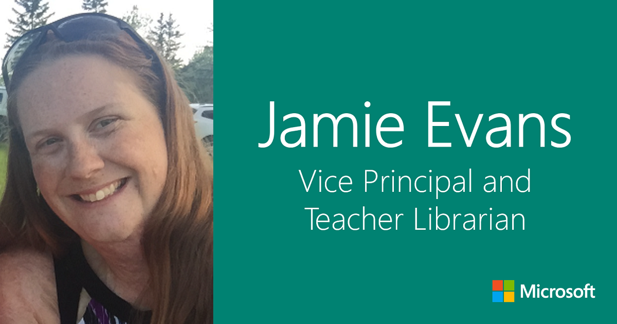 Jamie Evans: Vice Principal and Teacher Librarian