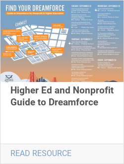 Higher Ed and Nonprofit Guide to Dreamforce