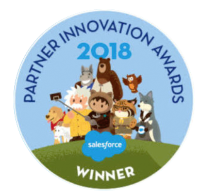 Partner Innovation Award from Salesforce 2018 logo