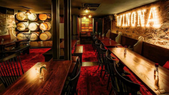Winona Room at Tanner Smith's speakeasy, restaurant and bar in Midtown New York