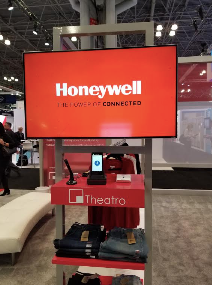 Honeywell x Theatro hardware and Mobile SaaS solution at NRF 2019