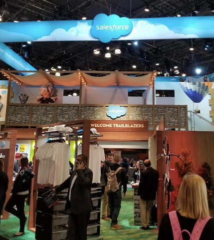 Salesforce Customer 360 Retail exhibits and demos at NRF 2019