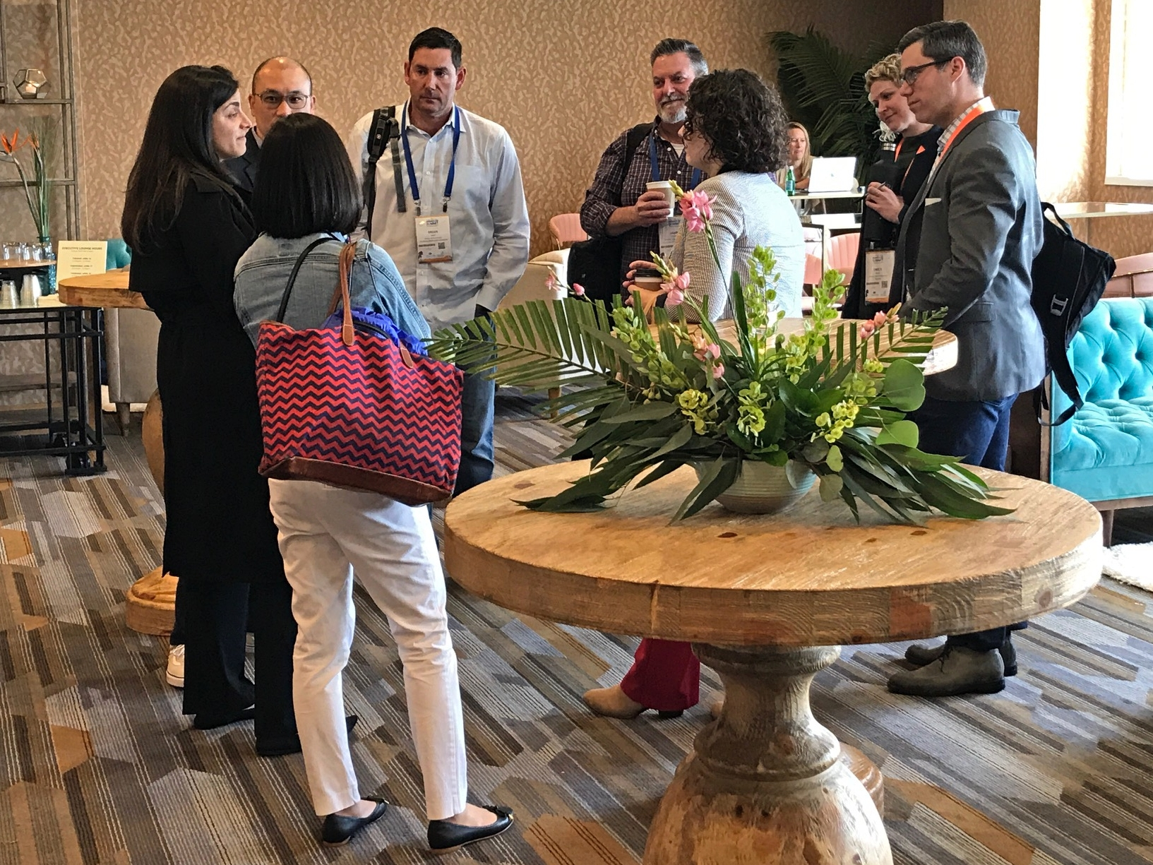 Appirio Lounge at the Higher Ed Summit 2019 in San Diego