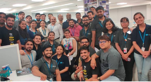 Attendees at the Jaipur Hiring Drive on July 6th at Appirio