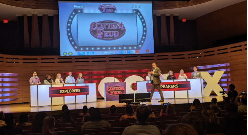 Conex 2019 Content Feud main stage