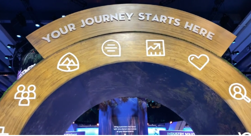 Your Journey Starts Here Arch Dreamforce 2019 Campground