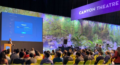 Appirio's Saurabh Deep unveils DevOps Innovations at Salesforce TrailheaDX India in the Canyon Theatre