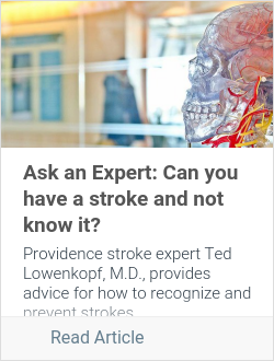 Ask an Expert: Can you have a stroke and not know it?