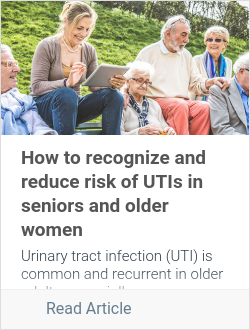 How to recognize and reduce risk of UTIs in seniors and older women