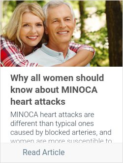 Why all women should know about MINOCA heart attacks