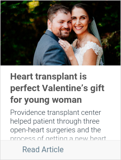 Heart transplant is perfect Valentine's gift for young woman