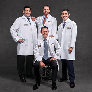 A partnership with USC has brought four of the area's leading cardiovascular surgeons—Craig J. Baker, MD, Matthew Powers, MD, Jonathan Cash, MD, and Raymond Lee, MD—to Providence Little Company of Mary.