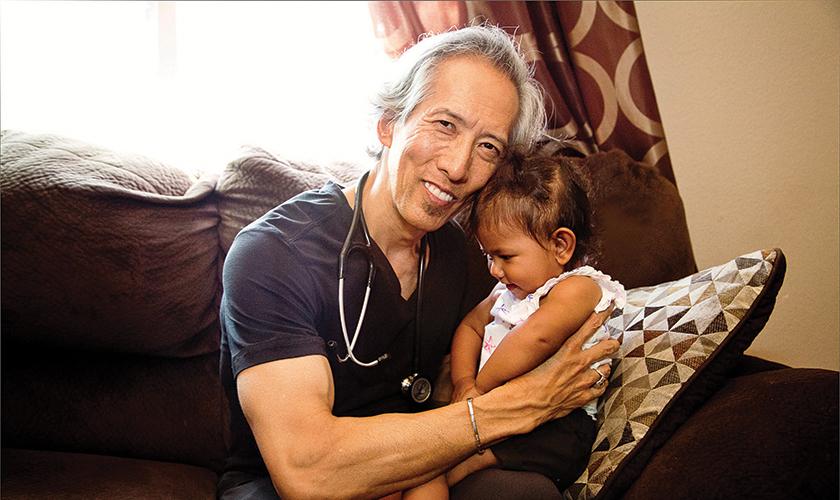 Dr. Glen Komatsu, Regional Chief Medical Officer of Hospice & Palliative Care for Providence St. Joseph Health.