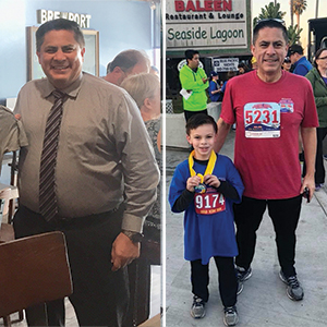 Galo Franco turned to Providence Little Company of Mary's Bariatric Wellness Center to get the help he needed. Today he runs races, sleeps better and feels better than ever.