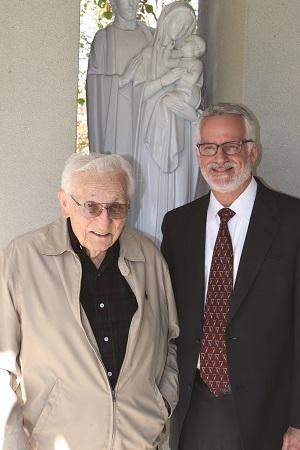 Al Ghirardelli and Dr. Bernie Klein
