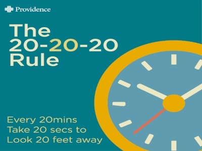 The 20-20-20 rule for remote workers