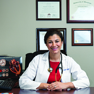 Nazanin Azadi, MD, offers cardiac surgery patients options whenever possible.