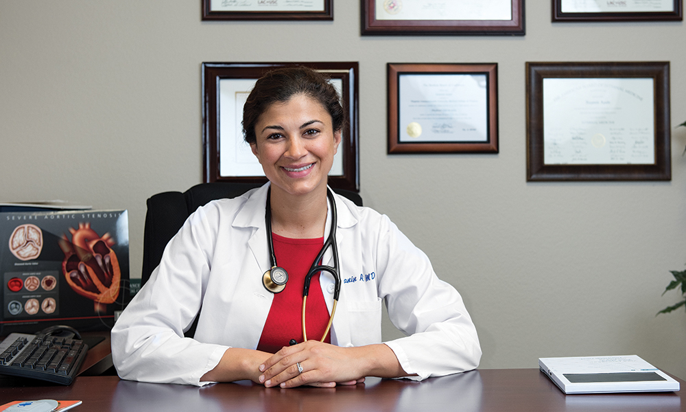 Nazanin Azadi, MD, who specializes in internal medicine, cardiology and interventional cardiology, reminds us why we need to pay attention to our heart health—especially now.