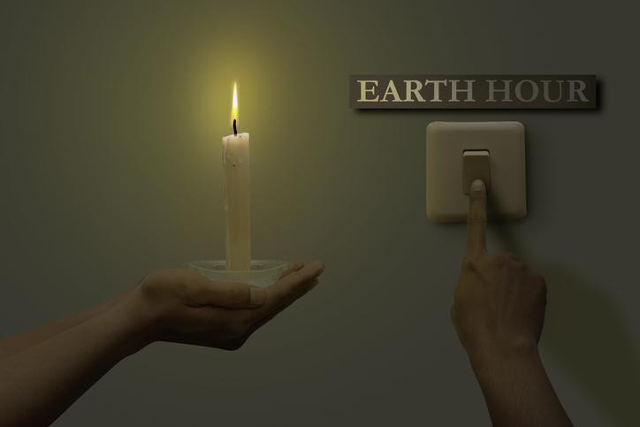 Earth Hour - Be a light.
