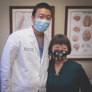 Bowen Jiang, MD, and Shirley Chang