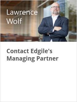 Contact Edgile's Managing Partner