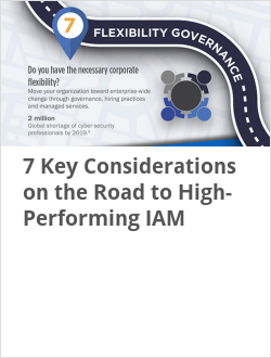 7 Key Considerations on the Road to High-Performing IAM