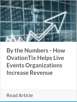 By the Numbers - How OvationTix Helps Live Events Organizations Increase Revenue