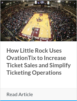 How Little Rock Uses OvationTix to Increase Ticket Sales and Simplify Ticketing Operations
