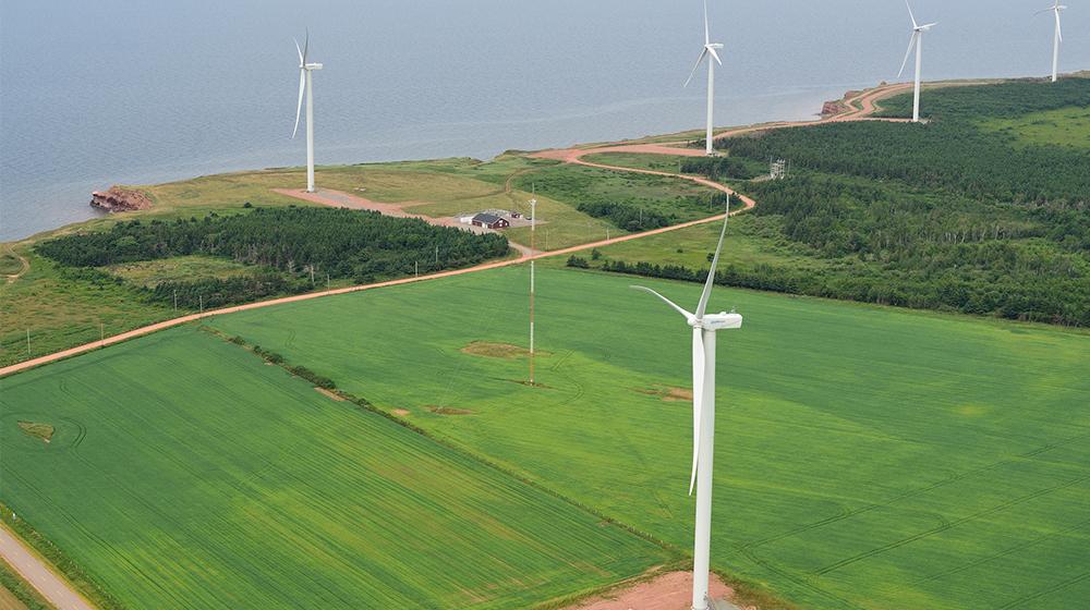 aerial wind farm