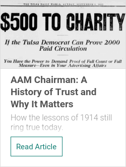 AAM Chairman: A History of Trust and Why It Matters