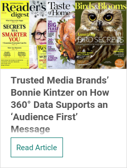 Trusted Media Brands' Bonnie Kintzer on How 360° Data Supports an 'Audience First' Message