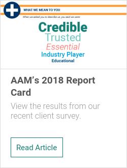 AAM's 2018 Report Card