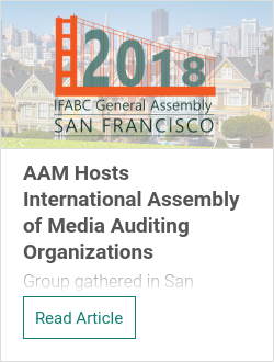 AAM Hosts International Assembly of Media Auditing Organizations
