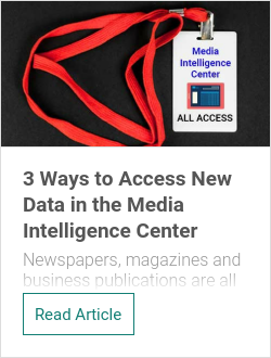 3 Ways to Access New Data in the Media Intelligence Center
