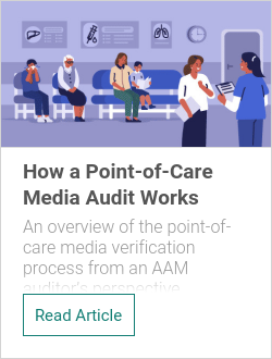 How a Point-of-Care Media Audit Works
