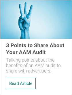 3 Points to Share About Your AAM Audit