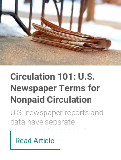 Circulation 101: U.S. Newspaper Terms for Nonpaid Circulation