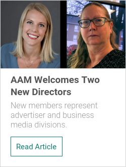 AAM Welcomes Two New Directors