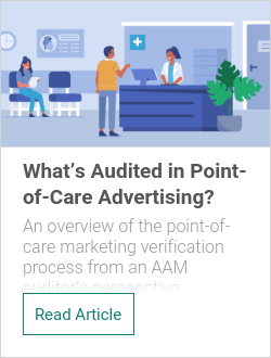 What's Audited in Point-of-Care Advertising?