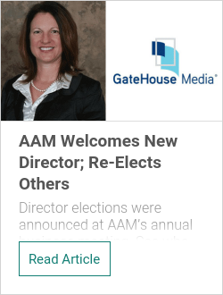 AAM Welcomes New Director; Re-Elects Others